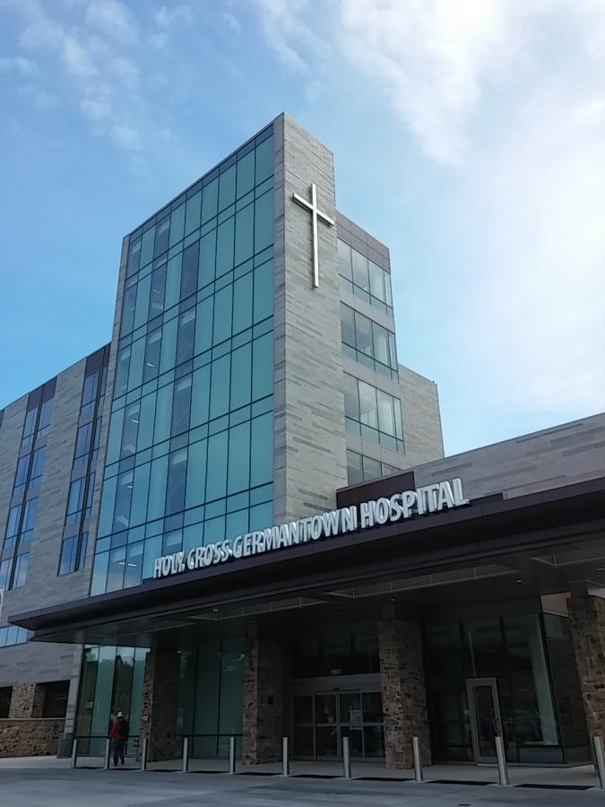 Germantown-PA-Hospital-Building-Signage