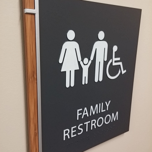 Corporate Restroom Signs
