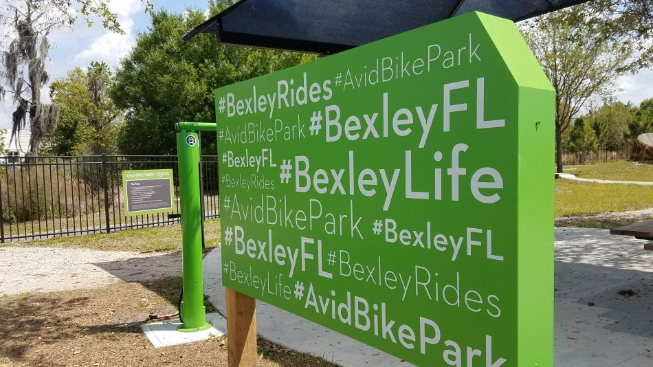 Bexley Bike Trail Signage