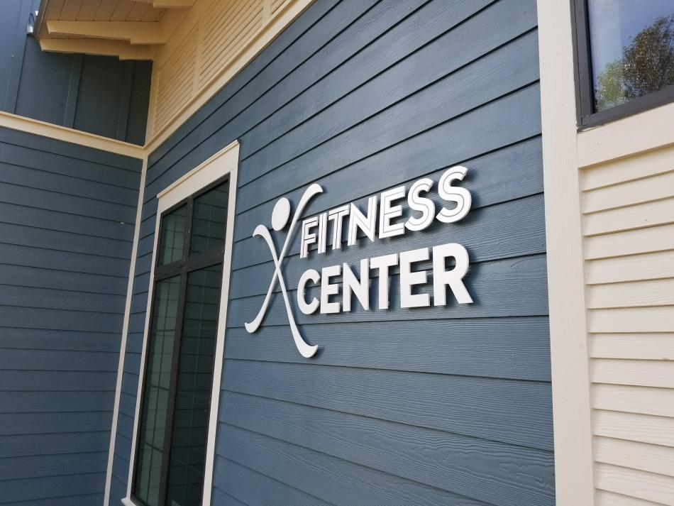 Bexley Fitness Center Signage