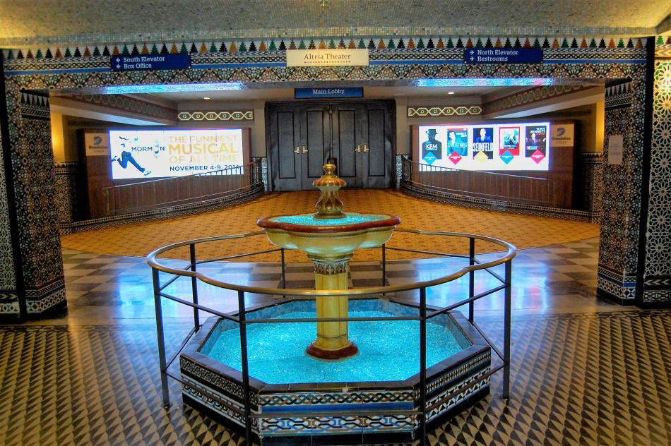 Lobby-Fountain-in-Richmond-VA