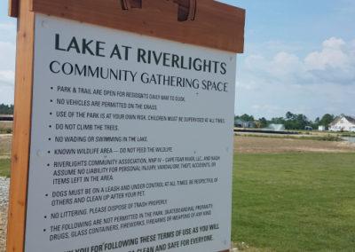 Newland Exterior Community Signage