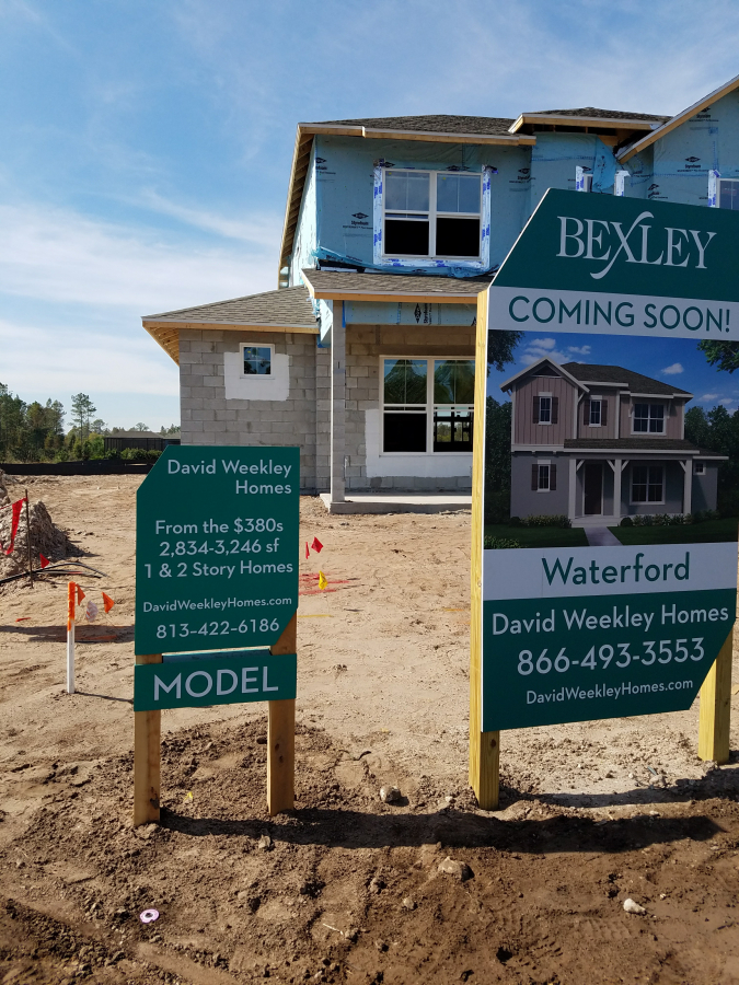 Bexley Outdoor Construction Signage