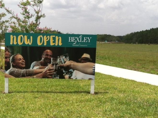 Bexley Outdoor Wooden Sign
