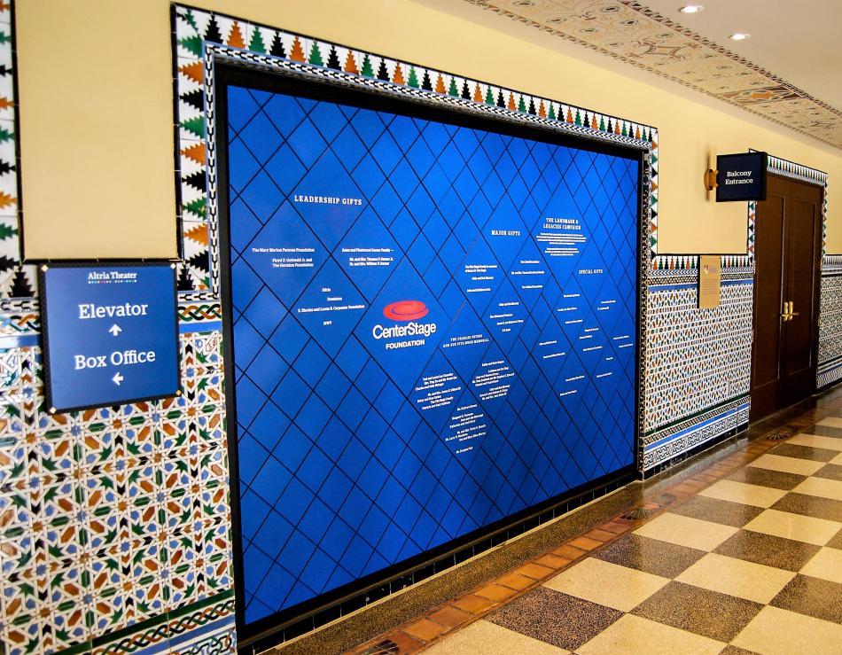 Donor-Wall-Display-in-Richmond-VA