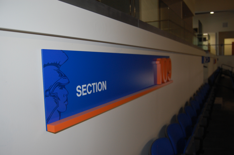 VSU Stadium Seating Graphics