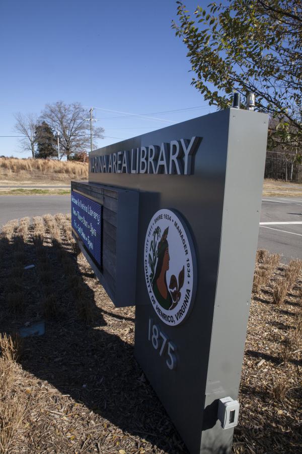 Varina-Library-Outdoor-Entrance-Signs-Richmond-VA