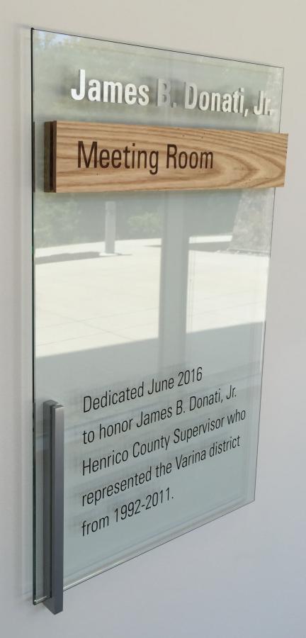 Varina-Library-Glass-and-Wood-Signs-Richmond-VA