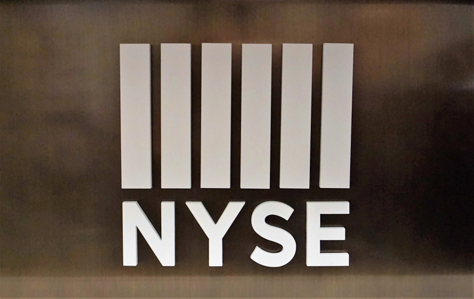 New York Stock Exchange Dimensional Logo