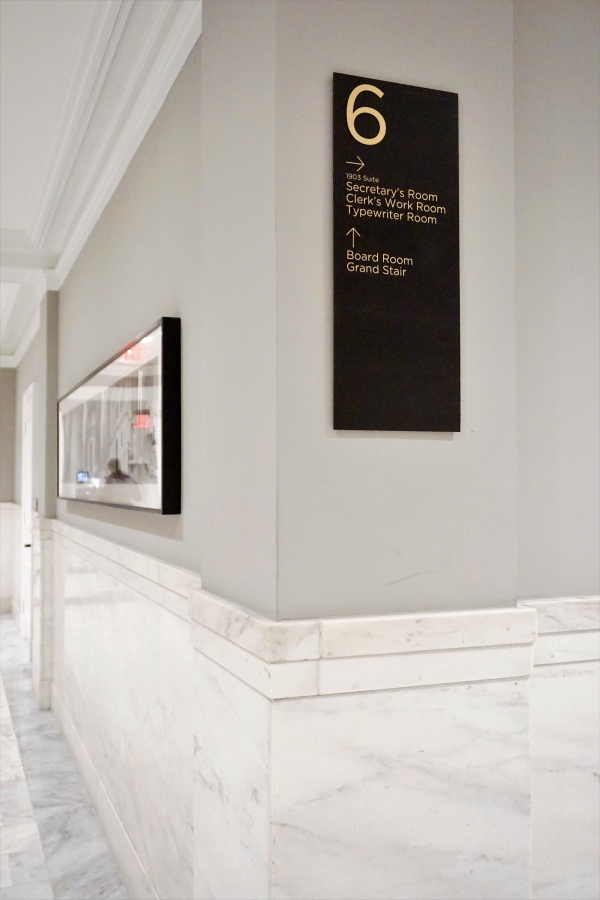 New York Stock Exchange Wayfinding
