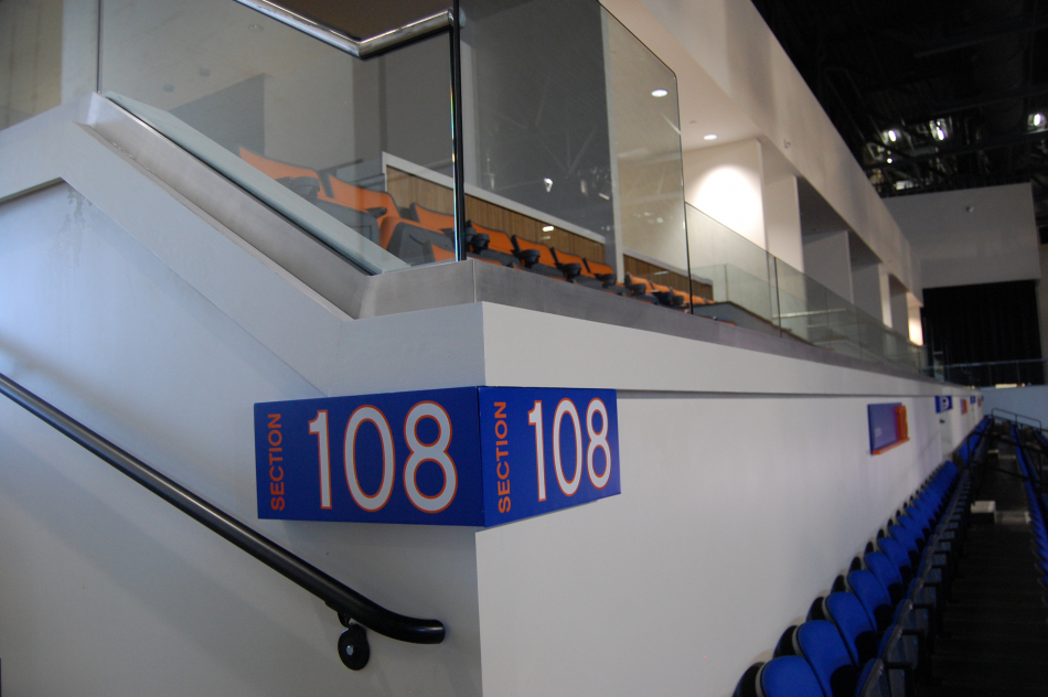 Virginia State University Stadium Directional Signs