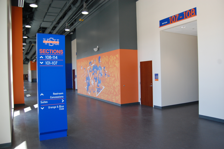Virginia State University Stadium Graphics