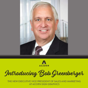 Bob Greenberger EVP of Sales and Marketing