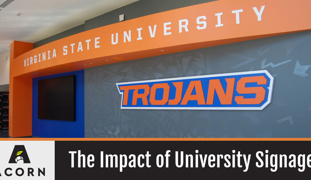 The Impact of University Signage