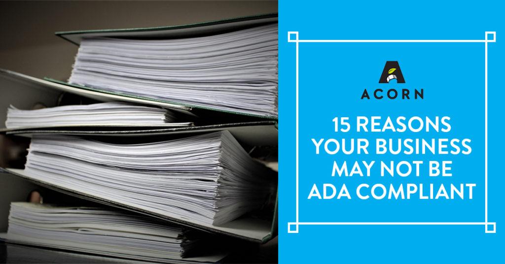 Not-ADA-Compliant