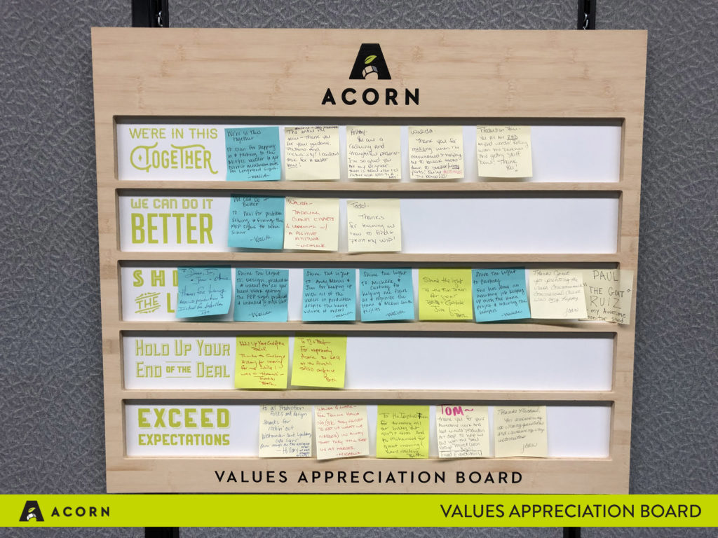 Values-Appreciation-Board