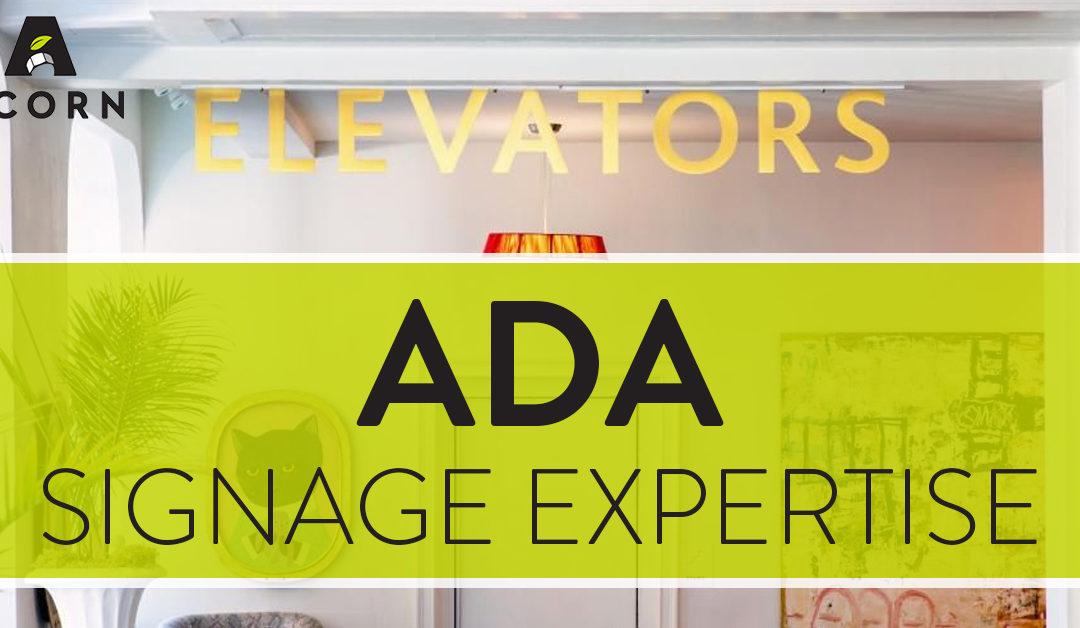 ADA Signage Expertise