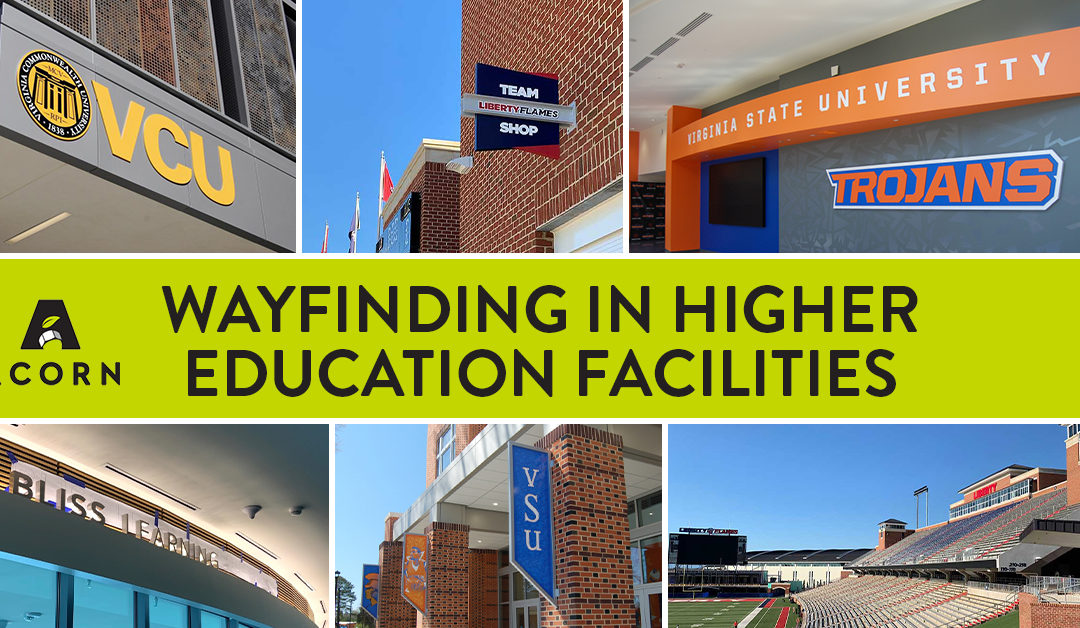 Wayfinding in Higher Education Facilities