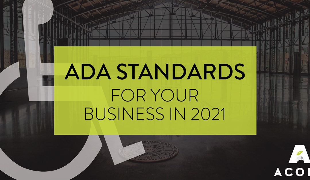 ADA Standards for Your Business in 2021