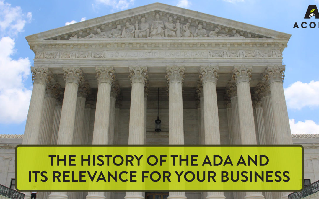 The History of the ADA & Its Relevance for Your Business