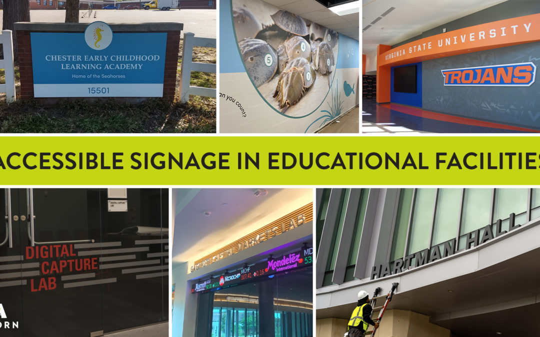 Accessible Signage in Educational Facilities